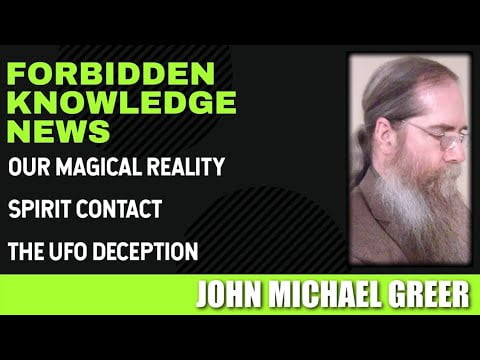 our magical reality spirit contact the ufo deception with john michael greer