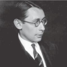 Hans Gál in his early 20s