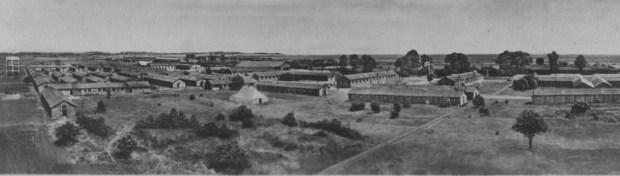 Camp Kitchner in Kent, one of several internment camps - Wellesz was on the Isle of Man