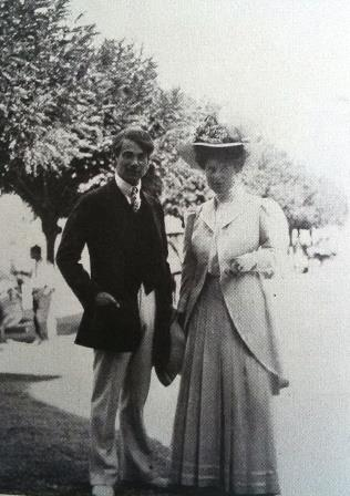 Emmy and Egon Wellesz on their Italian Honeymoon 1908