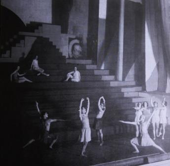 Scene from 'die Nächtlingen' in Berlin 1923
