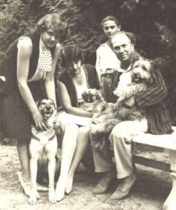 Schreker and his family in Berlin