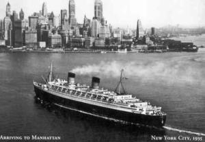 Arriving in Manhattan in 1935