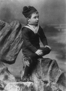 Robert Musil as a 7-year old 1887