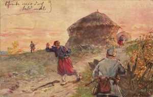 Fighting in the Balkans