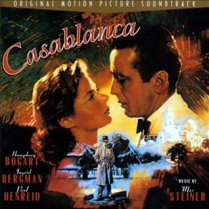 A film score by Max Steiner