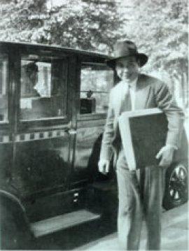 Berthold Goldschmidt in 1930. His opera 'Der Gewaltige Hahnrei' was to have been performed in Berlin in 1933