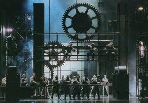 Scene From Max Brand's 'Mechanic Hopkins' or 'Maschinist Hopkins'
