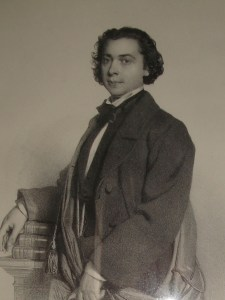 Adolf von Sonnenthal as a young man - Luzi's grandfather, and Vienna's most famous actor