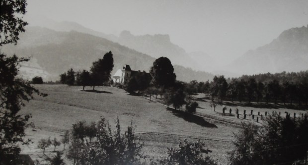Korngold's Country estate Höselberg near Salzburg