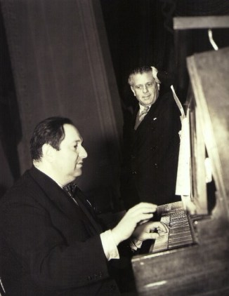 Wolfgang Erich Korngold and Max Reinhardt