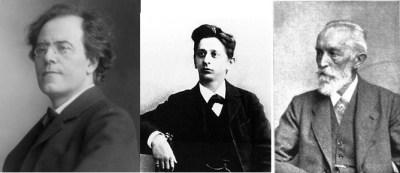 Korngold's foundations: Gustav Mahler; Alexander Zemlinsky and Robert Fuchs
