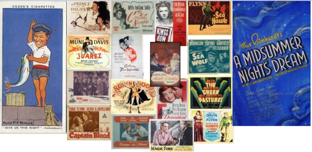 Korngold's surprisingly modest 12 year contribution to Hollywood – wonderful music to many forgotten films