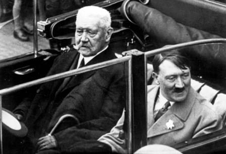 Hitler and Hindenburg 1933