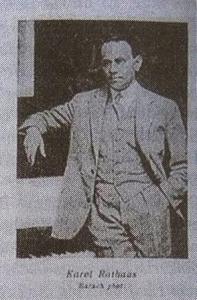 Karol Rathaus at the time of Pierrot