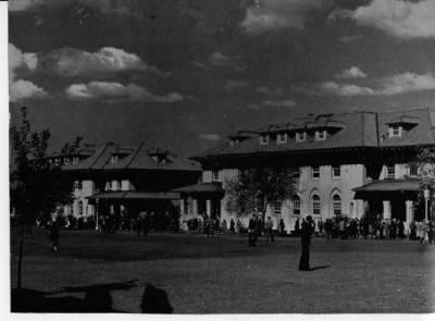 Queens College: the Quad 1940