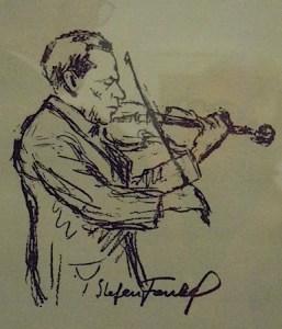 David Friedmann's drawing of Stefan Frankel