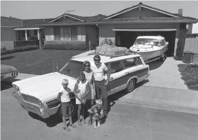 american affluence in the 1960s