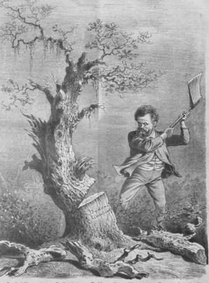 Lueger Cutting down the Jewish tree