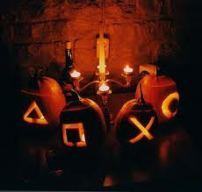 controller button pumpkins