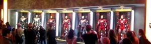 The IRON MAN Armory at Disneyland's INNOVATIONS