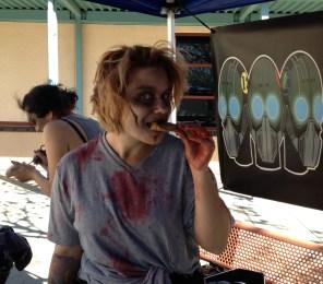 Zombies eat cookies too