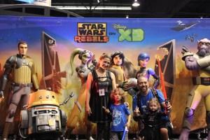 Star Wars Rebels booth & Photo Op