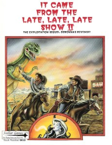 It Came From the Late, Late, Late Show II: The Exploitation Sequel Cover