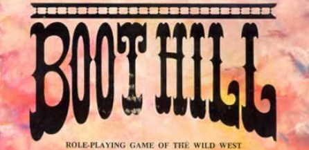 Boot Hill RPG Logo