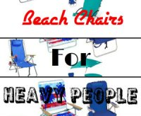 Plus Size Beach Chairs For Heavy People | For Big And ...