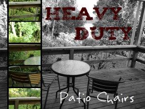 heavy duty patio chairs for heavy