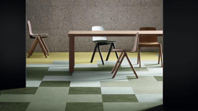 Marmoleum Modular Natural Tile Flooring