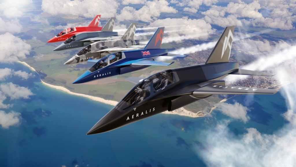 A AERALIS está traballando com a Thales UK e a ROC da RAF para desenvolver aeronaves modulares avançadas (Arte: AERLIS).
