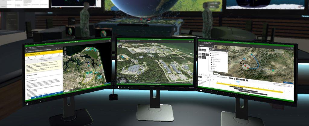 CAE recebe contrato de US$ 135 milhões do USSOCOM. CAE USA liderará o desenvolvimento da arquitetura e a integração do Sistema de Comando de Missão da  USSOCOM, desenvolvendo e alavancando um ecossistema digital para fornecer consciência situacional global aprimorada (Foto: CAE).