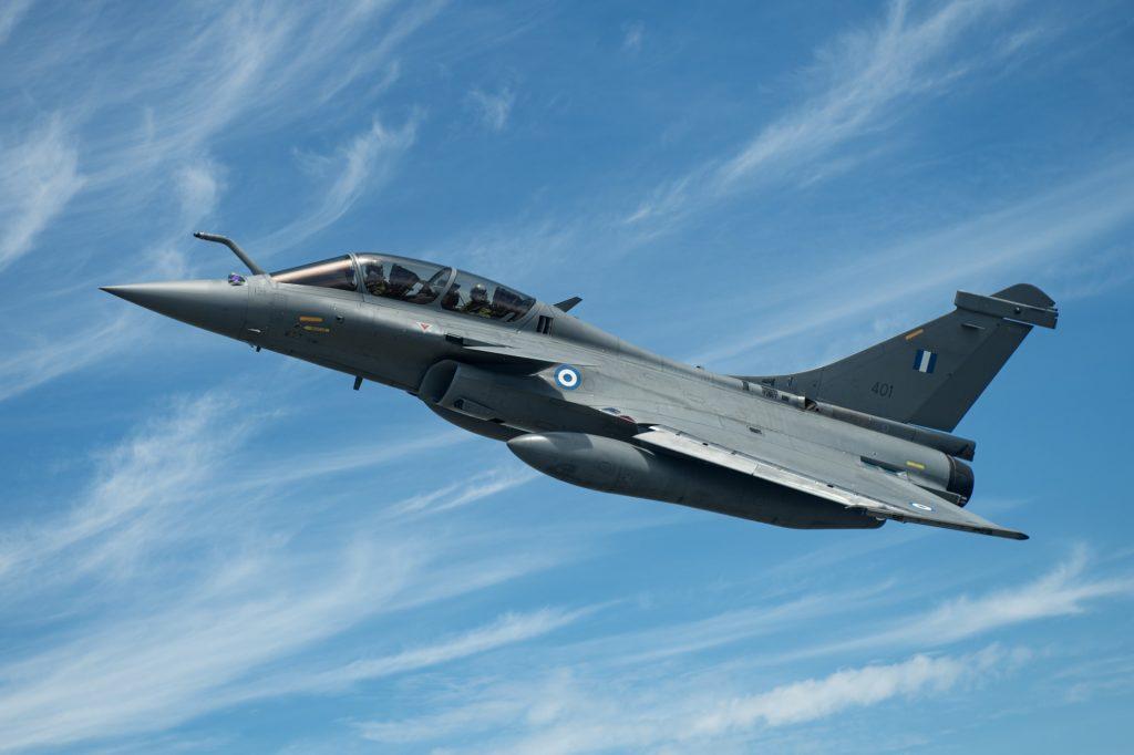Dassault entrega o 1º Rafale à Grécia. Ao todo 18 Rafales B/D F-3R irão operar na HAF (Foto: Dassault).