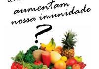 Os alimentos que colaboram no aumento da imunidade