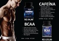 Atributos e utilidades dos suplementos a base de cafeína e BCAA