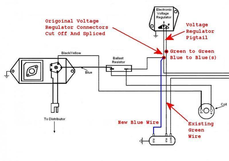 Upgraded Voltage Regulator