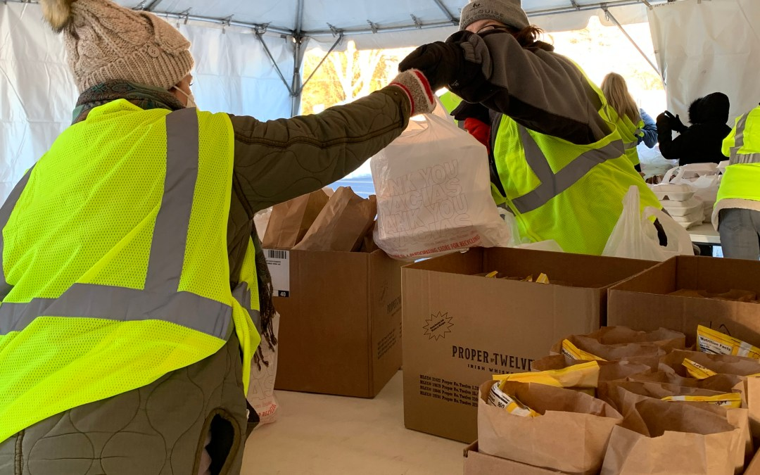 Consumers Energy Leads By Example with Our Town Meal Distribution Program
