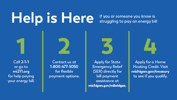 Times are Tough, Paying Your Bill Doesn't Have to be – Money Available to Pay Winter Bills