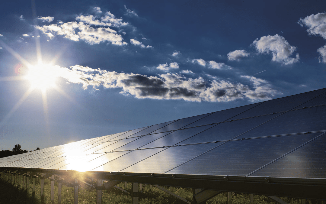Bright Idea: Tapping the Sun to Power Compressor Station