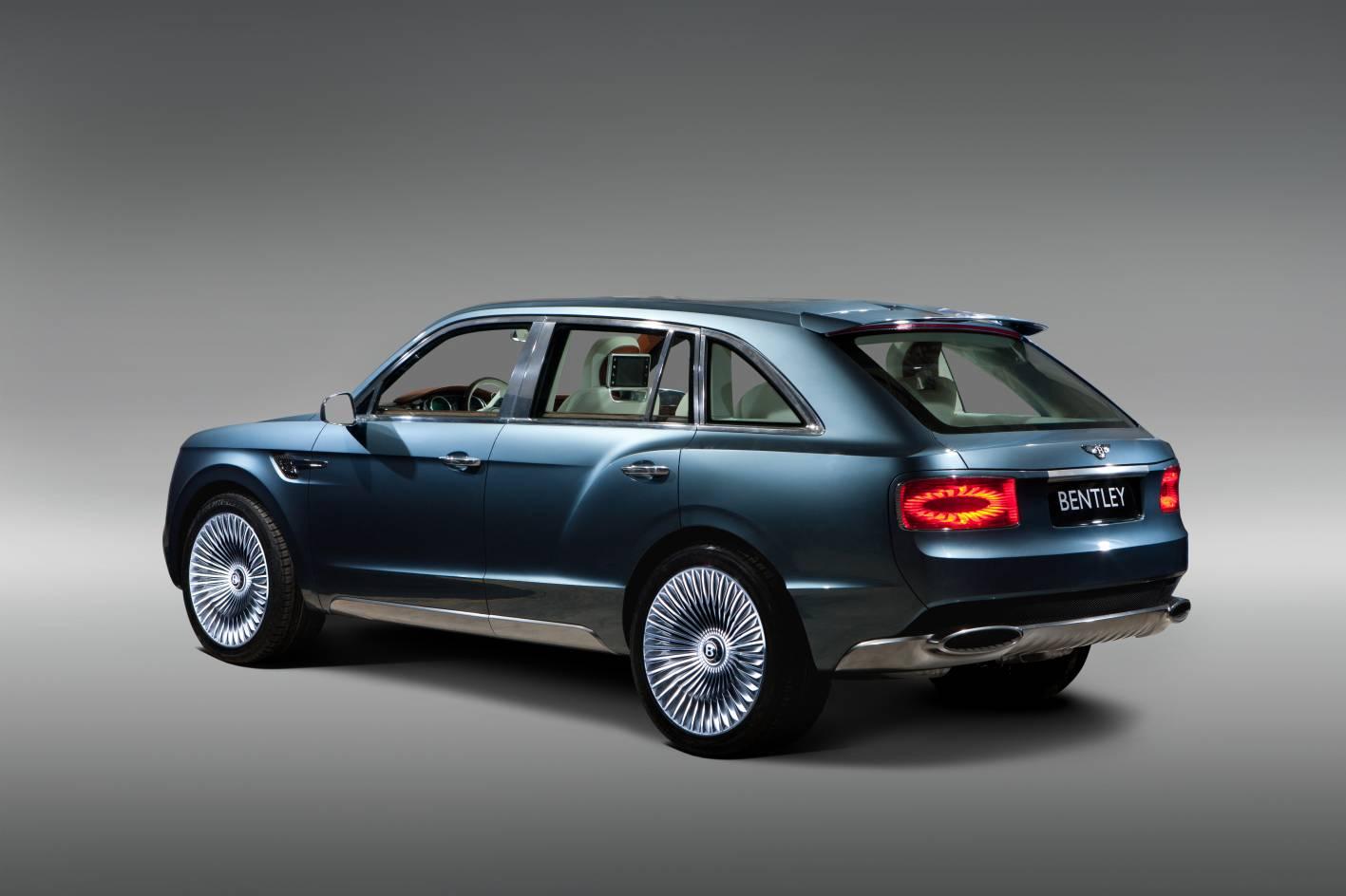 Bentley Cars  News Bentley Exp 9 F Concept Suv
