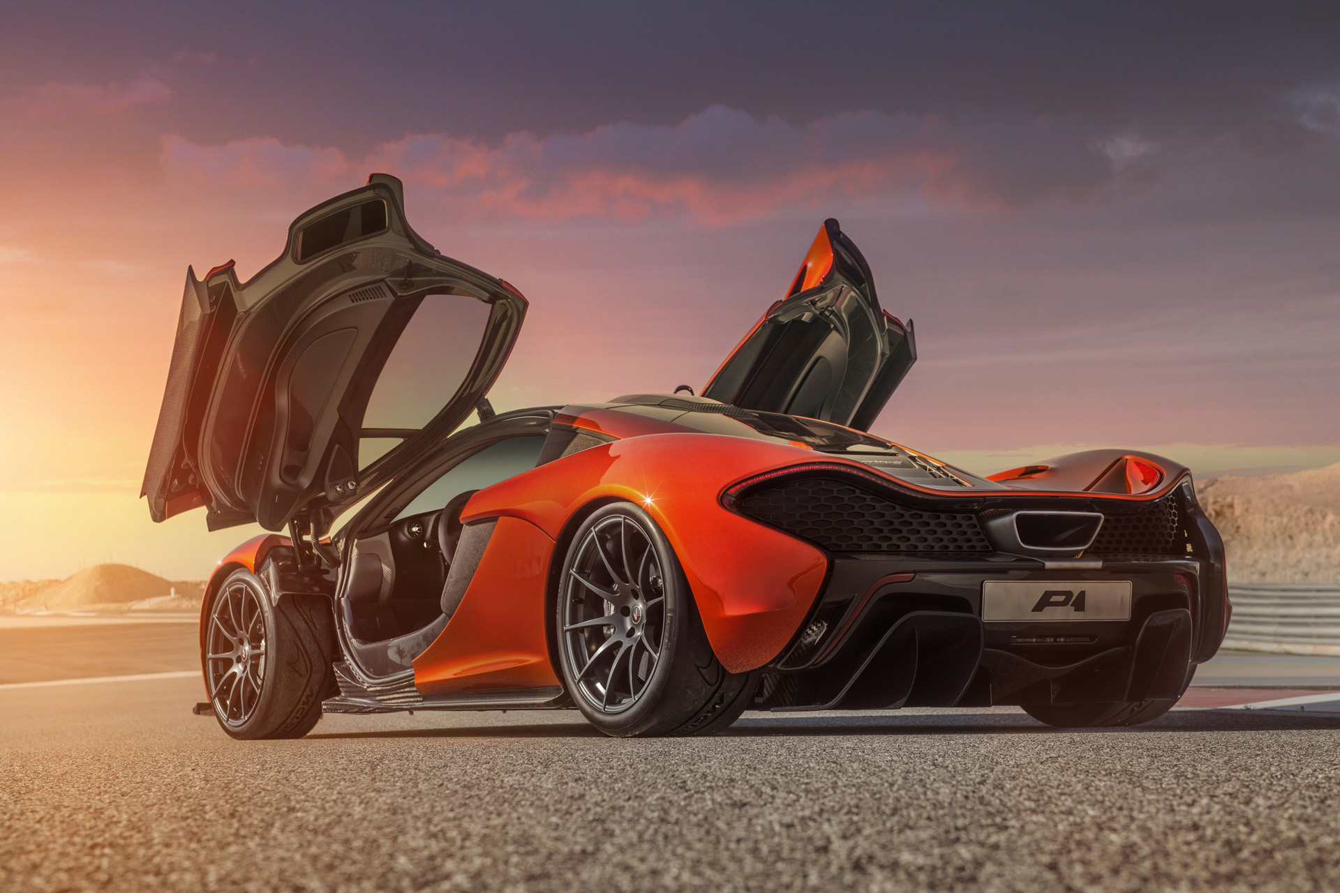 New Mclaren P1 High Res Images Released  Forcegtcom