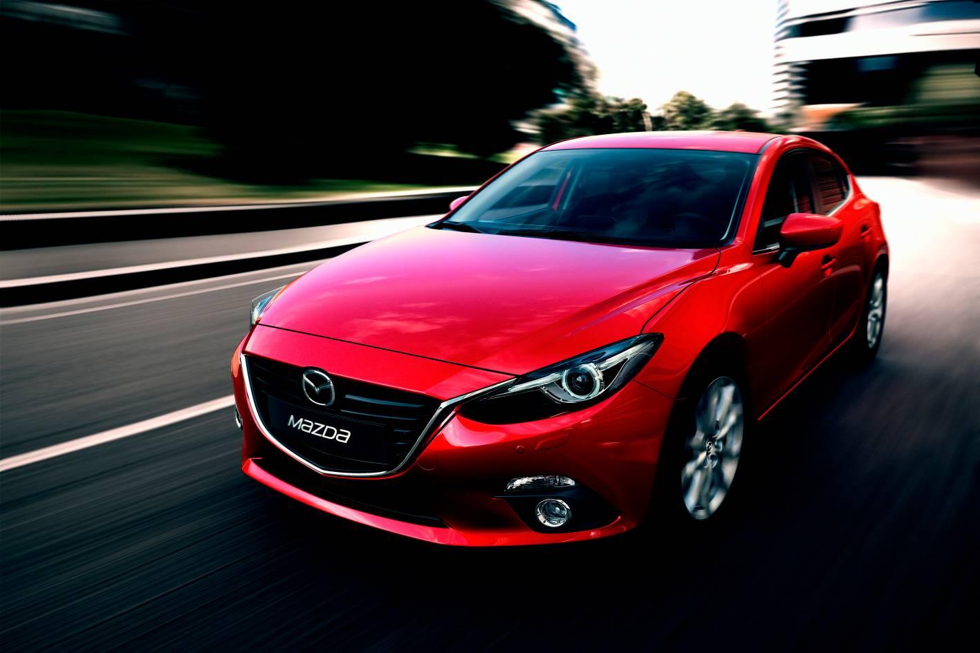 Mazda Cars  News 2014 Mazda3 Breaks Cover