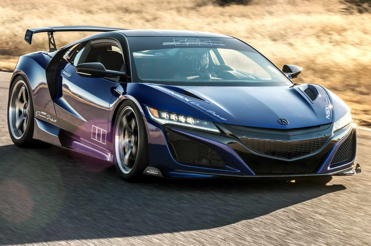 "Scienceofspeed ""dream Project"" Honda Nsx Unveiled At Sema"