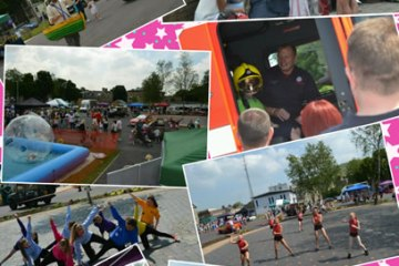 fct charity fun day collage