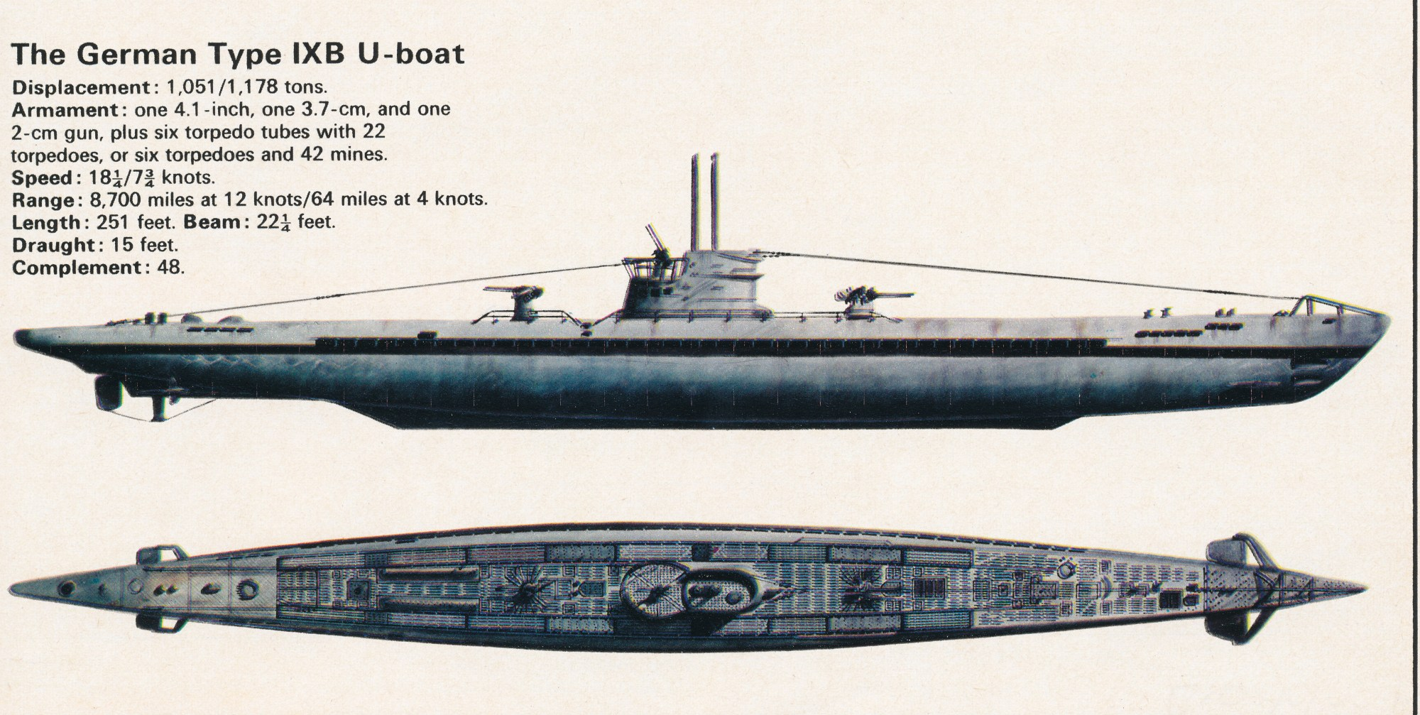 hight resolution of german xxi u boat diagram