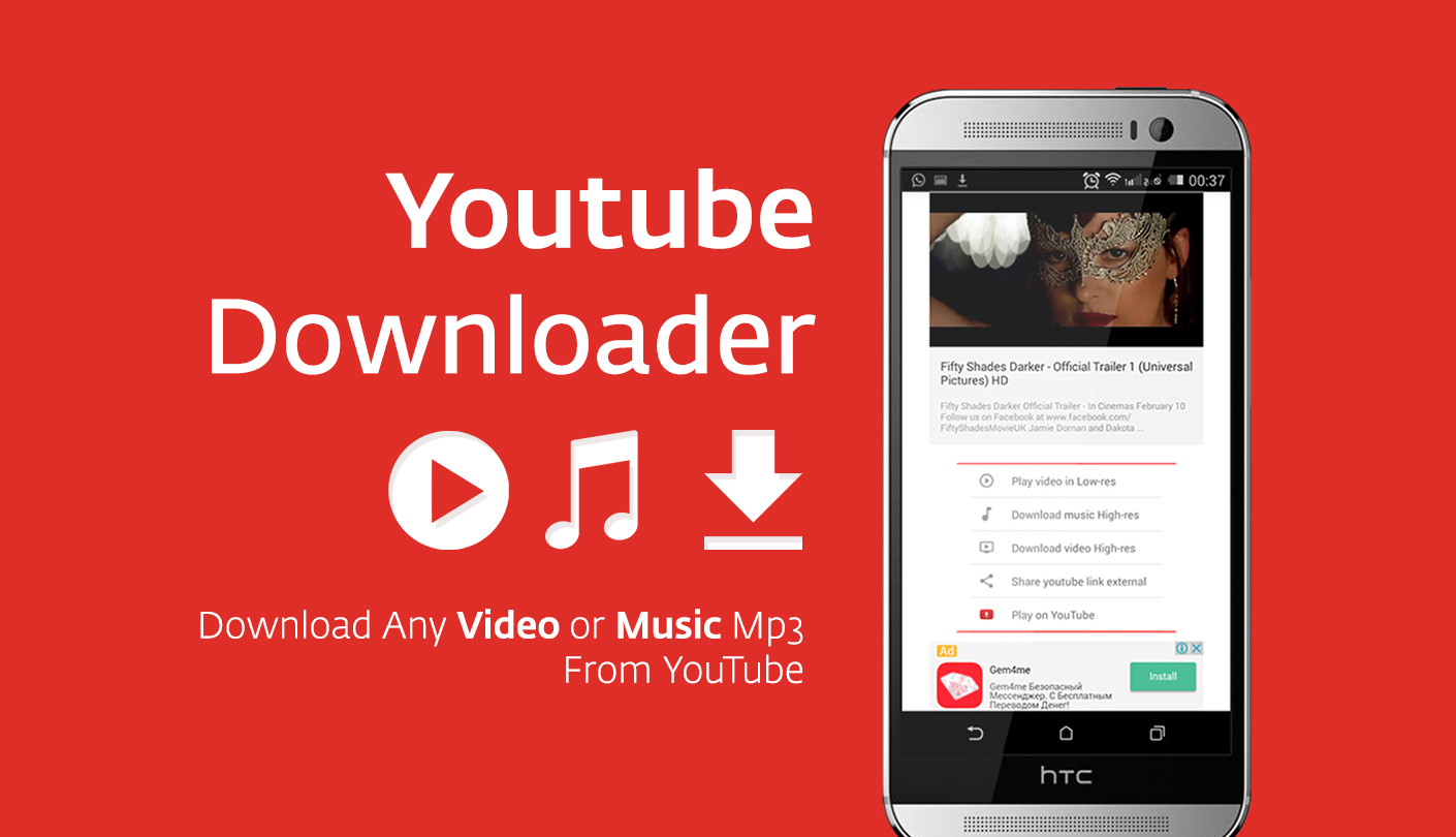 Youtube Mp3 Downloader App for Android  forChromecom