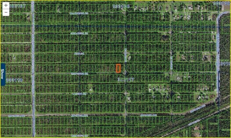 NO RESERVE!! Florida Land for Sale. 204 Tropicana Drive, Indian Lake Estate! 3