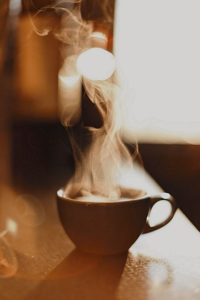 Coffee cup steaming - making better coffee at home